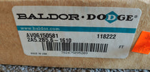 Baldor Dodge 118222 2A5.2B5.6-1610 Taper Lock Pulley 2 Groove