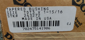 Dodge 243272 Tapered Bushing TDT3 X 1-15/16""