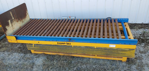 Econo Lift elevating and tilting conveyor