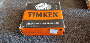 Timken HM804810 Tapered Roller Bearing Cup - Single Cup, 3.7500 in OD, 0.9063 in Width, Chrome Steel, Non-Flanged Cup