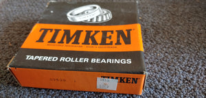 Timken 39520 Tapered Roller Bearing Cup - Single Cup, 4.4375 in OD, 0.9375 in Width, Chrome Steel, Non-Flanged Cup