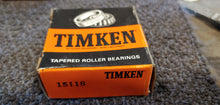 Timken 15118-20024 Tapered Roller Bearing Cone - 1.1895 in ID, 0.8125 in Cone Width, Chrome Steel Material