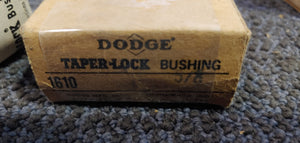 "Dodge Taper-Lock Bushing 1610 5/8"" Bore"