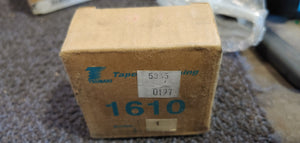 Tsubaki 1610-1 Taper-Lock Bushing - 1610 Series, 1.0000 in Bore, Finished with Keyway, 1/4 x 1/8 in Keyway, Steel