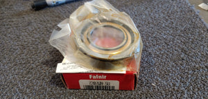 Fafnir 7207WN SU 7200WN Light Duty Angular Contact Ball Bearing, 35 mm Bore Dia, 72 mm OD, 1 Rows, 17 mm W, 40 deg