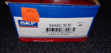 SKF SAKAC 30 M Male Threaded Right Hand Rod End - Grade: Commercial/Industrial, Bore Diameter: 30 mm, Shank Thread Size: M30x2, With Lubrication Fitting
