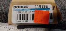 Dodge 119198 Taper-Lock Bushing - 1210 Series, 0.9375 in Bore, Finished with Keyway, 1/4 x 1/8 in Keyway, Sintered Steel
