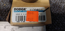 Dodge 117080 Taper-Lock Bushing - 1210 Series, 1.1250 in Bore, Finished with Keyway, 1/4 x 1/8 in Keyway, Sintered Steel