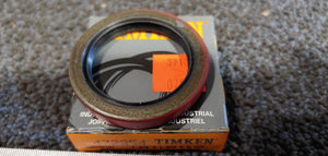 Timken National Seals 472354 Nitrile Oil Seal - Solid, 1.375 in Shaft, 1.878 in OD, 0.250 in Width, 47 Design, Nitrile Lip Material