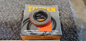 Timken National Seals 471466 Nitrile Oil Seal - Solid, 0.625 in Shaft, 1.124 in OD, 0.250 in Width, 47 Design, Nitrile Lip Material
