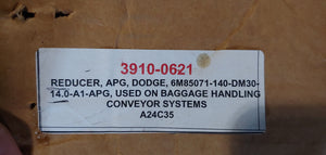 Master Power Transmission Gear Drive Reducer, APG Dodge 140-D-M-3-A-1-14-A1