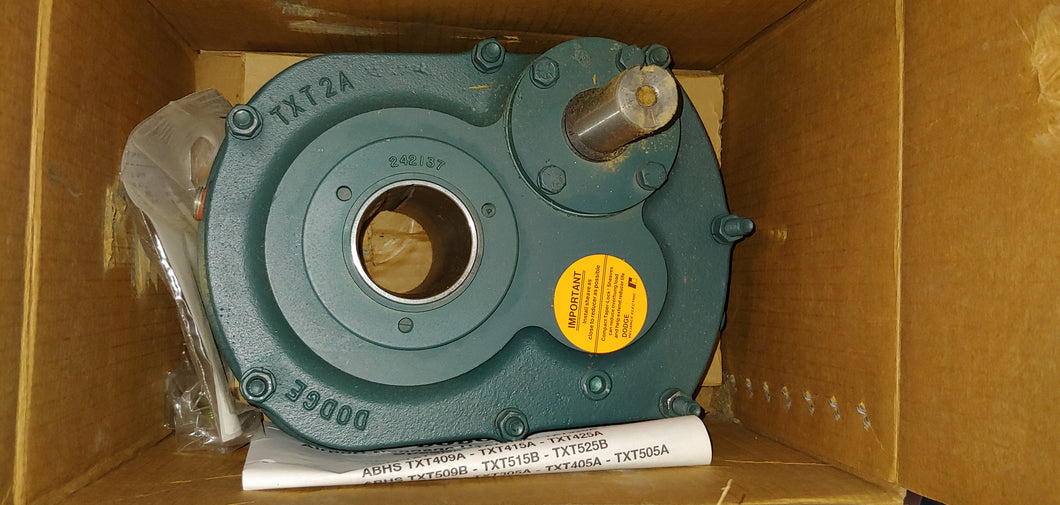 Dodge Gear Drive TXT 2A Torque-Arm Speed Reducer, ABHS215 -37, Ratio 14:1