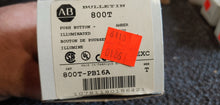 Allen Bradley Amber Illuminated Pushbutton 800T-PB16A