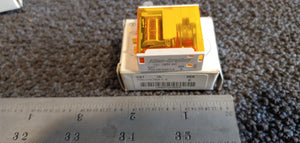 Allen Bradley 700-HK36A1-4 700-HK General Purpose Slim Line Relay, 16A Standard Contact, SPDT Contact Arrangement, 120V AC 50/60Hz Coil, Pilot Light