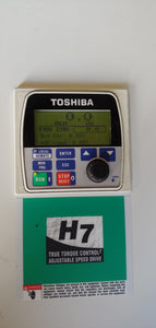 Toshiba 125 HP Rated Transistor Inverter VFD (Variable Frequency Drive) VT130H7U612KB, 600v, 3PH