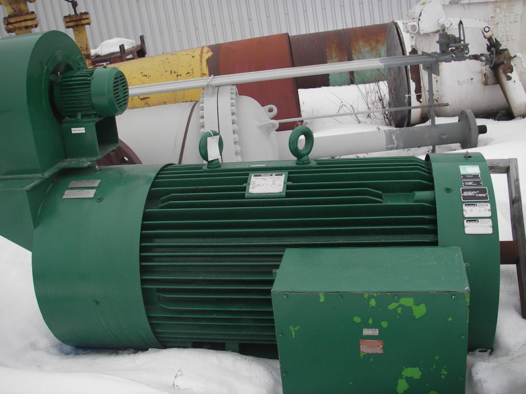 200 HP Electric Motor - Reliance Electric