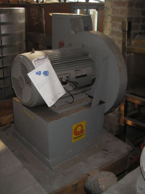High Pressure Blower - Quickdraft Corp.