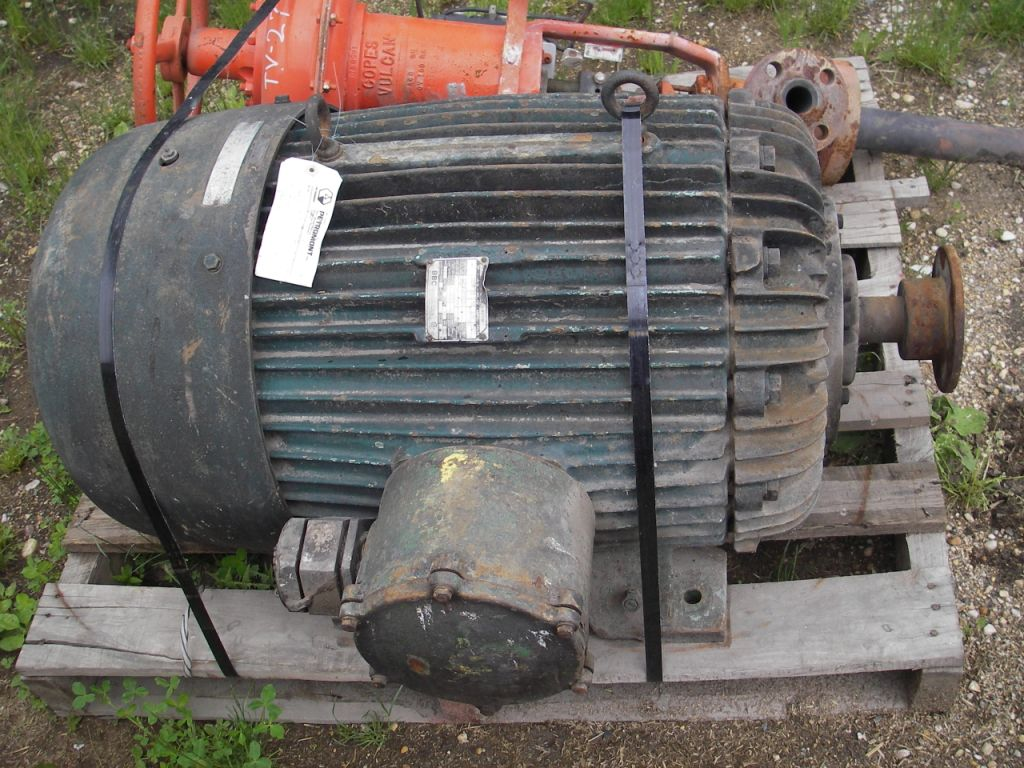 125 HP  Electric Motor- Brown Boveri Canada