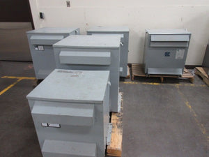 Siemens 3 Phase Transformer 40 KVA 575V to 332Y/575V Volts