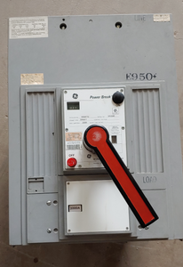 General Electric 2000Amp 3 Phase Breaker Power Break Cat:TPMMF76 Frame:TPMMF7 Max Amperes:2500