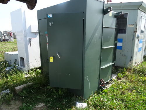 Siemens 1500 KVA, ONAN, HV 25KV, LV 2300/1328V, Three Phase Pad Mount Transformer
