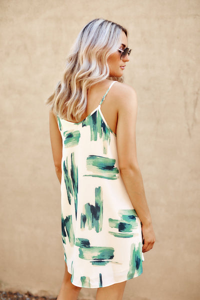 Asher Collection - Winnie Dress - Green