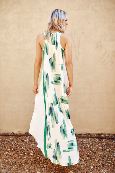 Asher Collection - Harwell Dress - Green