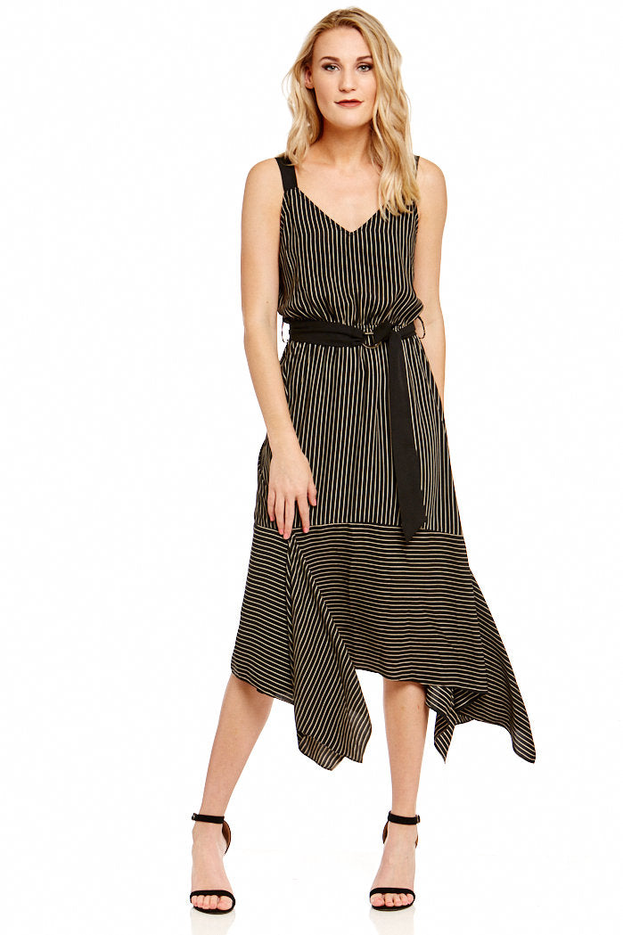 Asher Collection - Hilton Dress - Black