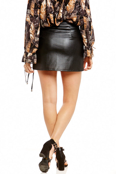 Asher Collection - Trenton Skirt - Black