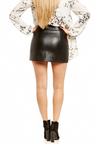 Asher Collection - Daniel Skirt - Black
