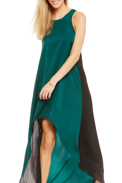 Asher Collection - Harwell Dress - Emerald