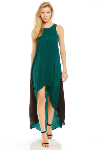 Harwell Dress - Emerald