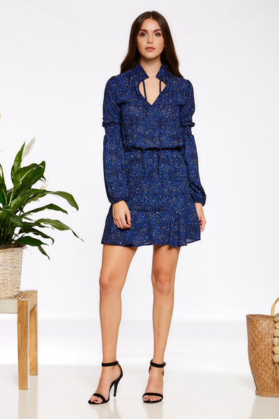 Asher Collection - Reuben Dress - Navy
