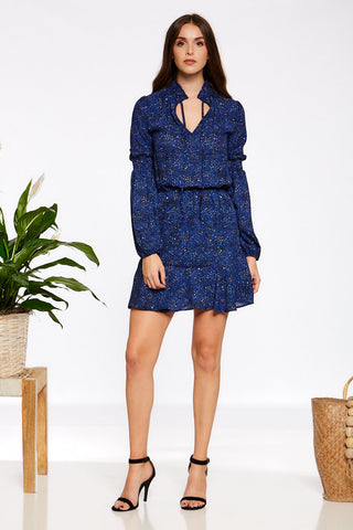 Reuben Dress - Navy