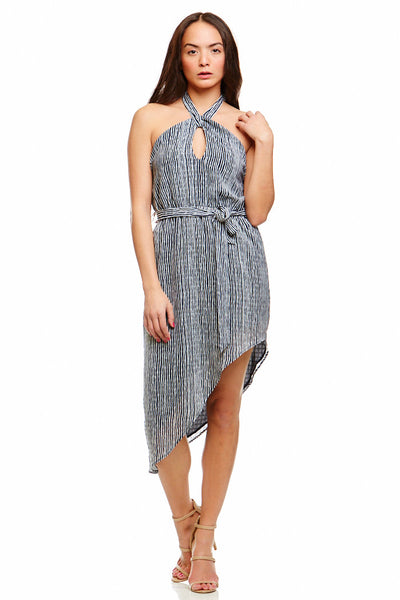 Asher Collection - John Dress - Navy