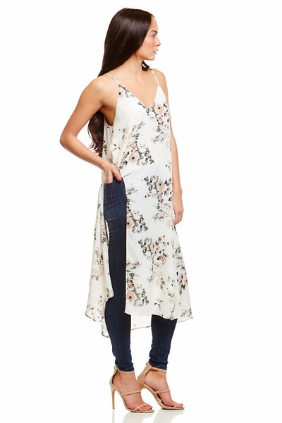 Asher Collection - Malachi Tunic - White