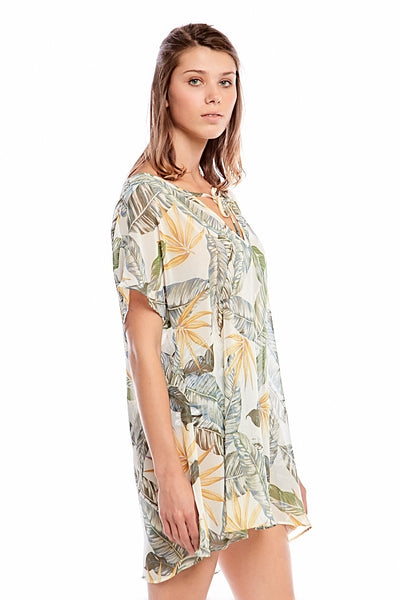 Asher Collection - Concord Coverup - White