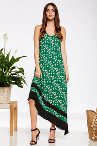 Gwen Slip Dress - Green