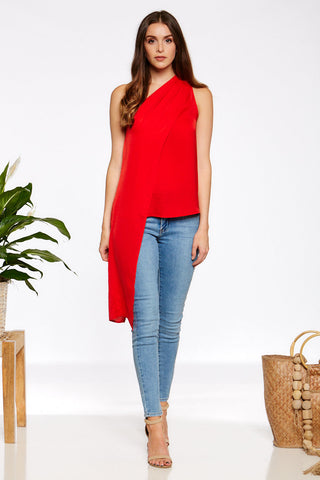Kathleen Top - Red