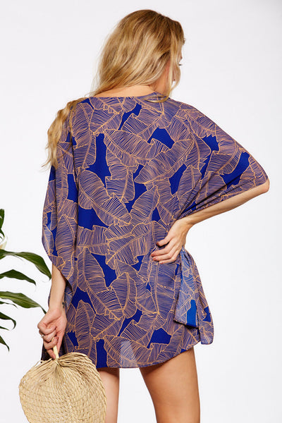 Asher Collection - Turner Coverup - Blue