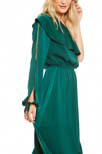 Asher Collection - Ashland Dress - Emerald