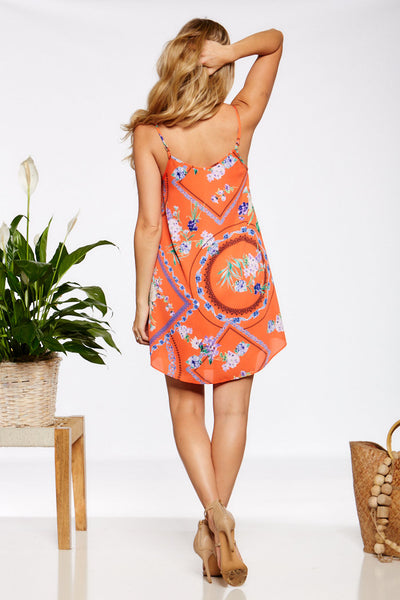 Asher Collection - Winnie Dress - Orange
