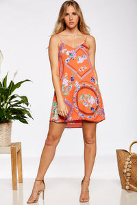 Winnie Dress - Orange