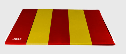 1.5 5x10 V2 Folding Mats - Red & Yellow