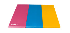 Pink, Marine & Yellow Folding Mat
