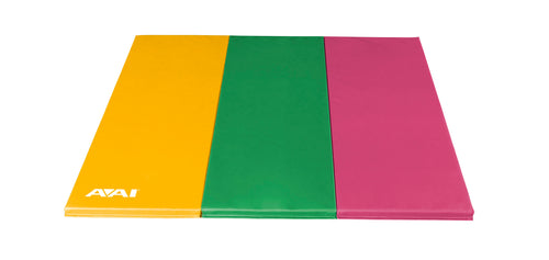 Yellow, Lime & Pink Folding Mat