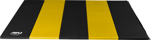 1.5 5x10 V2 Folding Mats - Black & Yellow