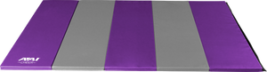 AAI Cheer Purple & Grey Folding Mats