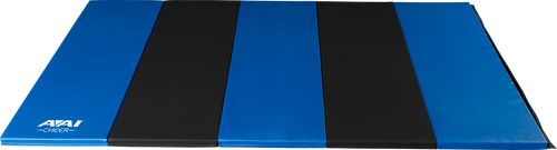 AAI Cheer Royal & Black Folding Mats