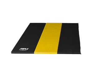 AAI Cheer Black & Yellow Folding Mats